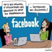 Facebook écolo